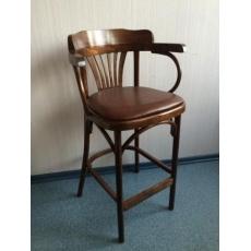 Кресло барное мягкое Bel-Wood Аполло КМФ КМФ 305-01-2 (H 650)