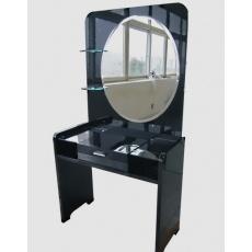 Туалетный столик с зеркалом Sofia-Mebel Черный Бриллиант Z967-2