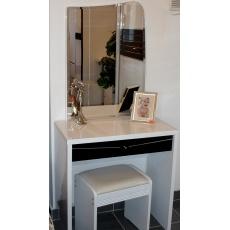 Туалетный столик с зеркалом Sofia-Mebel Черный Бриллиант Z 508