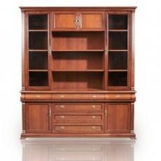 Книжный шкаф 4-х дверный Mauricio