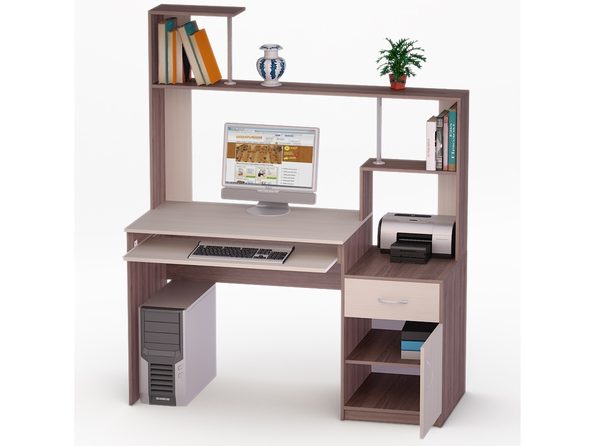 Компьютерный стол роберт-2 купить в москве в интернет-магази.
