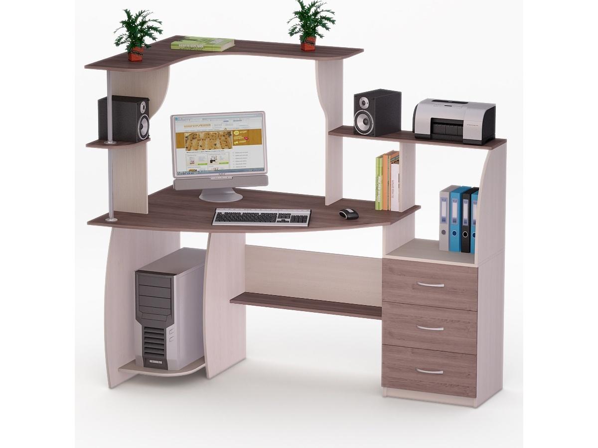 Компьютерный стол роберт-7 купить в москве в интернет-магази.