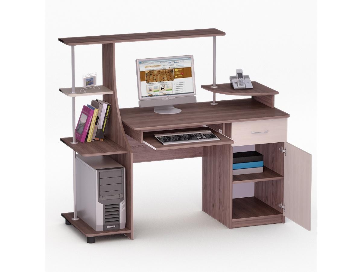 Купить компьютерный стол ника led - 42 kult mebeli.