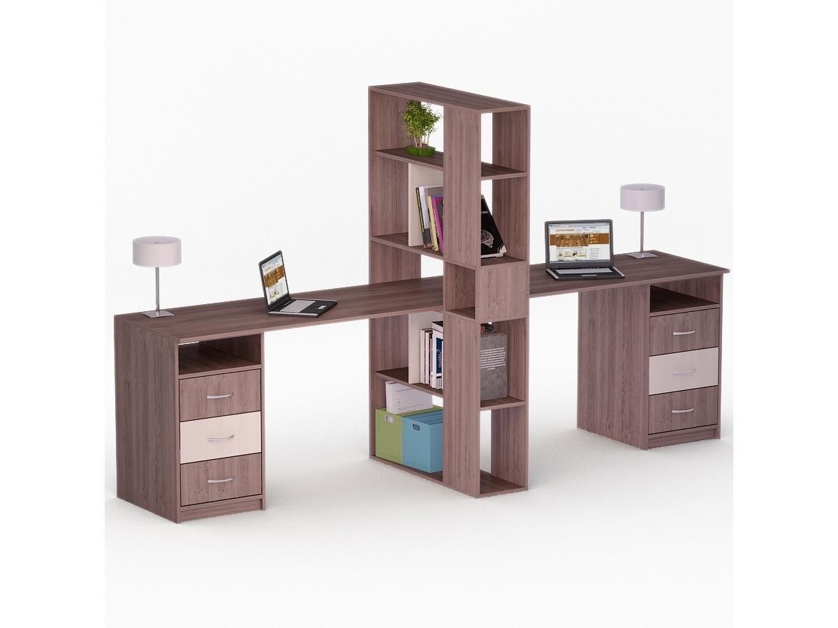 Компьютерный стол для двоих рональд-49.