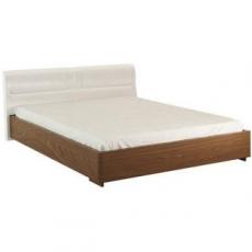 Кровать 140 с мягким изголовьем (Vienna) Эко-кожа