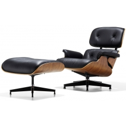 Кресло CoolArt Eames lounge с отоманкой