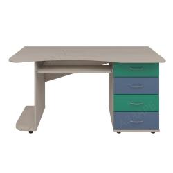 Компьютерный стол Аззаре система Dori Blue