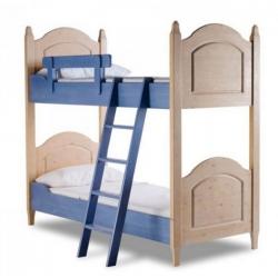 Детская двухъярусная кровать Raffaello Finiture Blu 2232/A