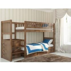 Двухъярусная детская кровать Venger Владимир с шухлядами