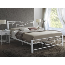 Кровать Signal Parma белая