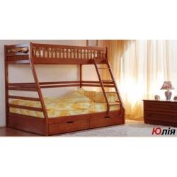 Детская 2-х ярусная кровать Venger Юлия с шухлядами
