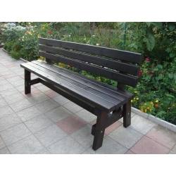 Скамейка садовая Мебликофф