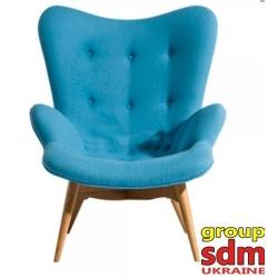 Кресло Grupo SDM Флорино (цвет голубой )