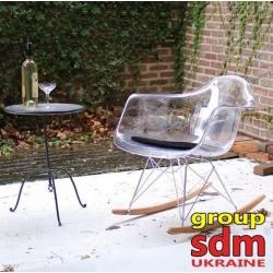 Кресло-качалка Grupo SDM Тауэр R (цвет прозрачный акрил)