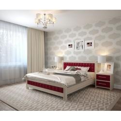 Кровать АРТ мебель Фортуна (ДУБ)
