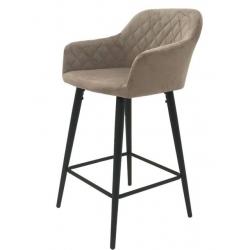 Кресло Concepto ANTIBA пудровый серый