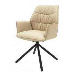 Кресло Concepto BOSTON поворотное, кожзам (бежевый)