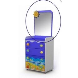 Зеркало к комоду Briz Ocean Od-07-1