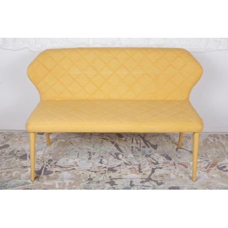 Кресло-банкетка Nicolas Valencia ( Валенсия ) желто-горячее