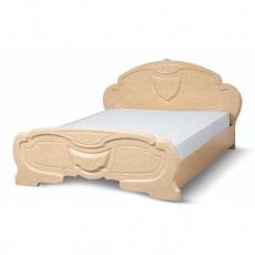 Кровать Світ Меблів Эмилия (перламутр) 160