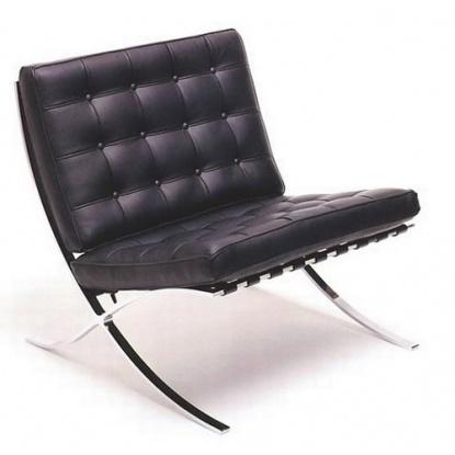 Кресло Grupo SDM Барселона (кожа черная)