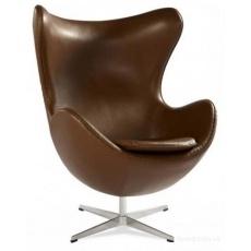 Кресло барное Grupo SDM Эгг (кожзам коричневый)