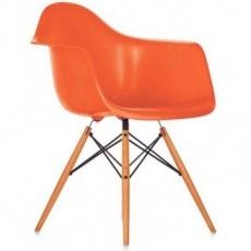 Кресло барное Grupo SDM Тауэр Вуд (цвет оранжевый)