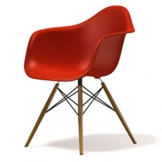 Кресло барное Grupo SDM Тауэр Вуд (цвет красный)