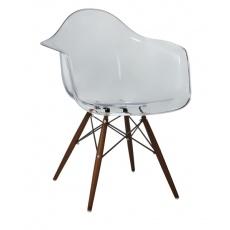 Кресло барное Grupo SDM Тауэр Вуд (цвет прозрачный)