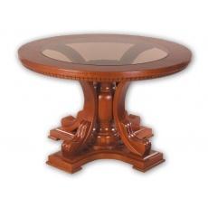 Стол обеденный Мираж нераскладной круглый