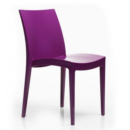 Стул Grand Soleil LONDON HIGLOPP GLOSSY PURPLE S6324MZ