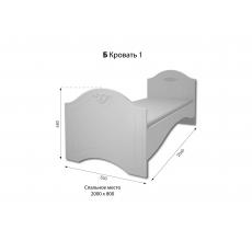 Детская кровать Компасс Ассоль АС-09