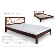 """Кровать """"КАНТРИ"""" с ковкой"""
