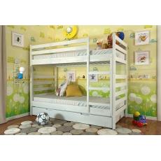 Двухъярусная детская кровать Рио - сосна