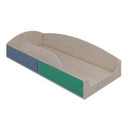 Кровать верхняя Аззаре система Dori Blue
