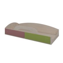 Кровать верхняя Аззаре система Dori Pink