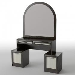 Туалетный столик с зеркалом АКМ БС-15/ БС-18