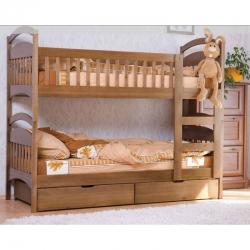 Двухъярусная детская кровать Venger Арина с шухлядами