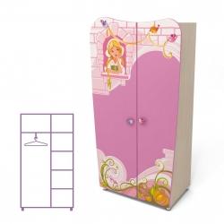 Шкаф двухдверный Briz Cinderella Cn-02-2