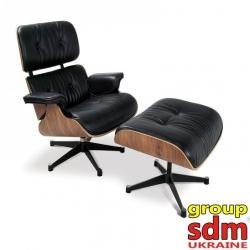 Кресло с оттоманкой Grupo SDM Релакс (кожа)