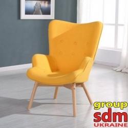 Кресло Grupo SDM Флорино (цвет желтый )