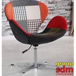 Кресло Grupo SDM Сван (ткань, пачворк )