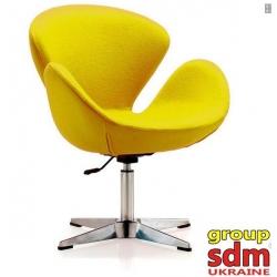Кресло Grupo SDM Сван (ткань, цвет желтый )