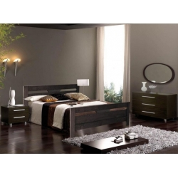 Кровать АРТ мебель Модерн (ДУБ)