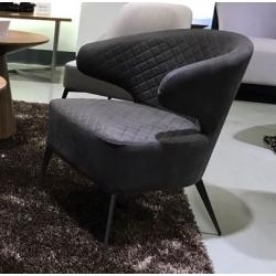 Кресло Concepto Keen (Кин) Лаунж Текстиль Нефтяной Серый