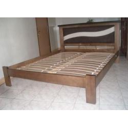 """Кровать WellMebly """"Кира"""" (вставка кожзам)"""
