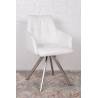 Кресло поворотное Nicolas Leon (белое)