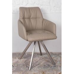 Кресло поворотное Nicolas Leon (бежевое)