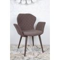 Кресло Nicolas VALENCIA коричневое