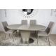 Стол обеденный Nicolas GEORGIA 120/150 мокко